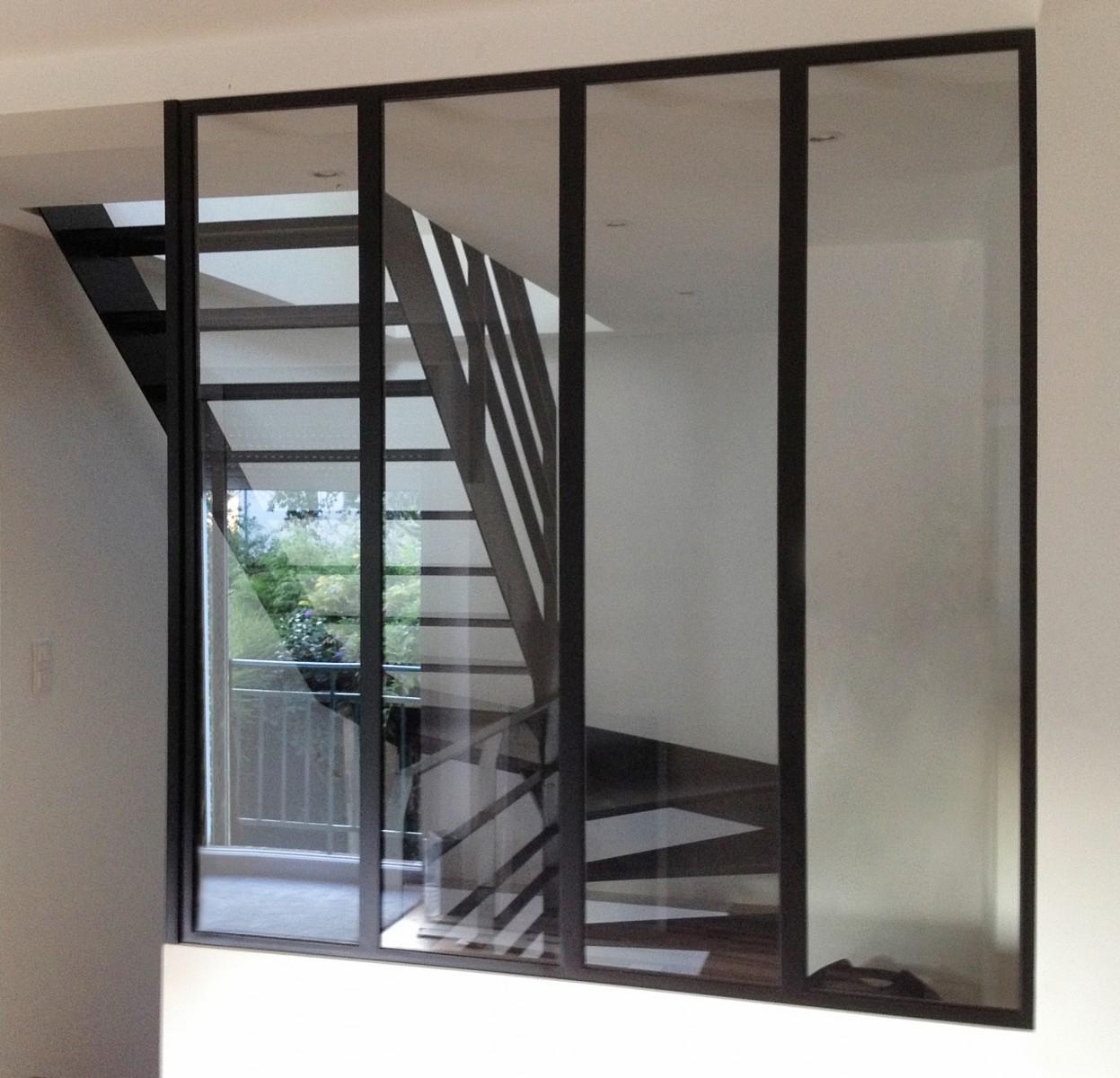 Verri re atelier for Baie vitree style atelier prix