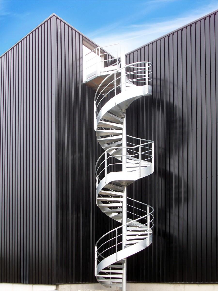 Escaliers ext rieurs for Escalier helicoidal exterieur