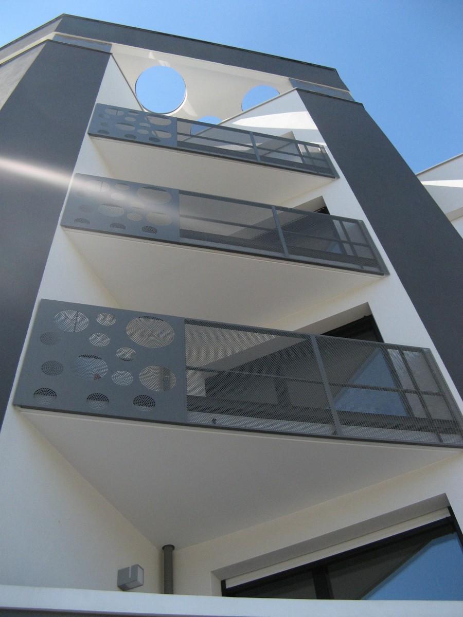 Garde corps design - Habillage balcon ...
