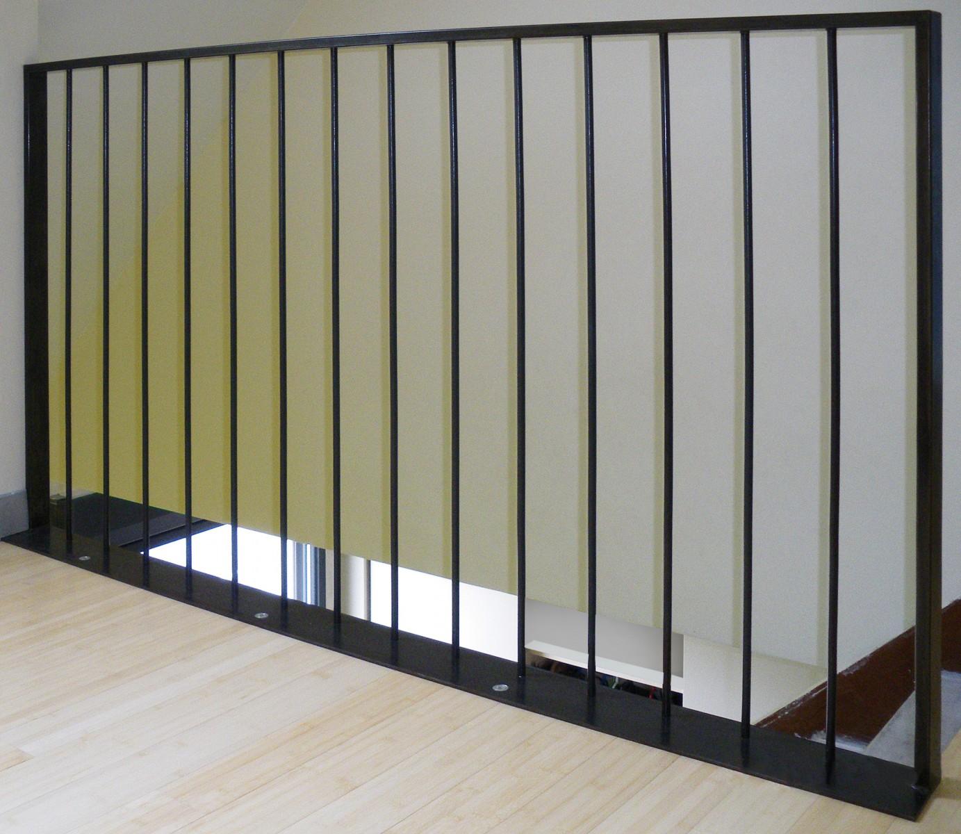 garde corps barreaudage. Black Bedroom Furniture Sets. Home Design Ideas
