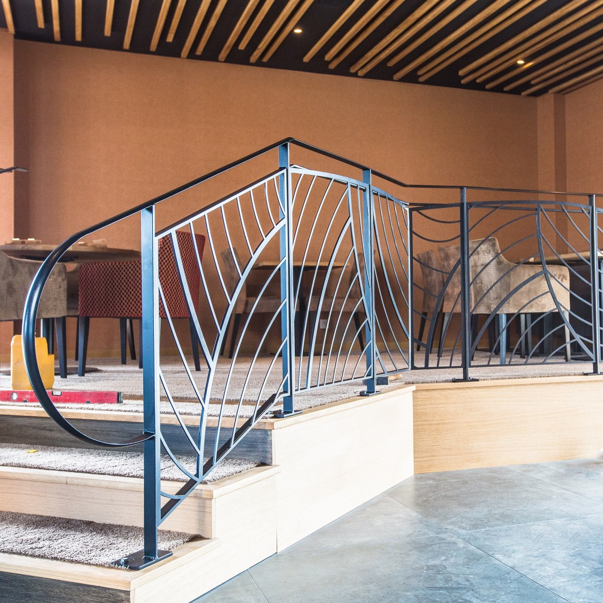 garde corps d co d coupe laser. Black Bedroom Furniture Sets. Home Design Ideas