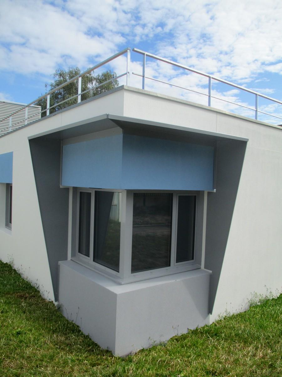 garde corps toiture terrasse. Black Bedroom Furniture Sets. Home Design Ideas