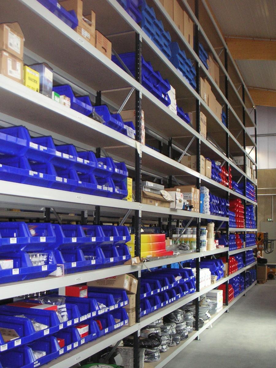 Rayonnage mi lourd - Rayonnage garage ...
