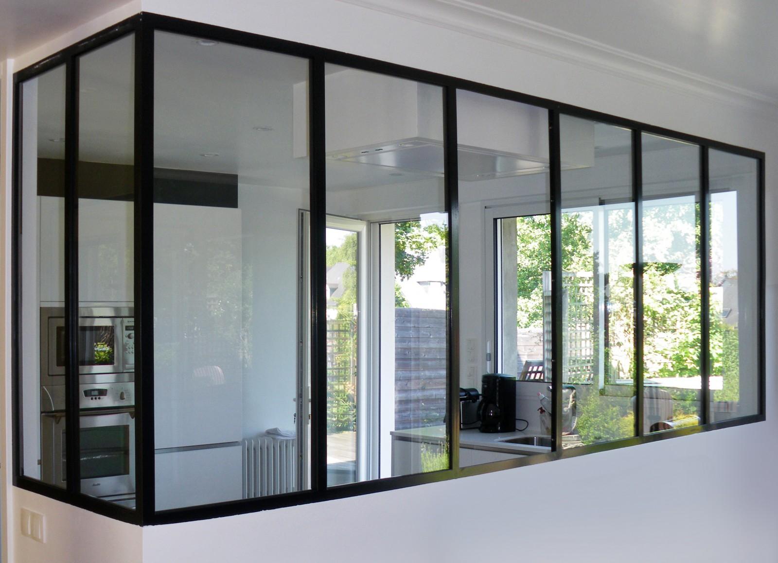 vitre verriere beautiful stunning sparation vitre cuisine gallery formidable separation vitree. Black Bedroom Furniture Sets. Home Design Ideas