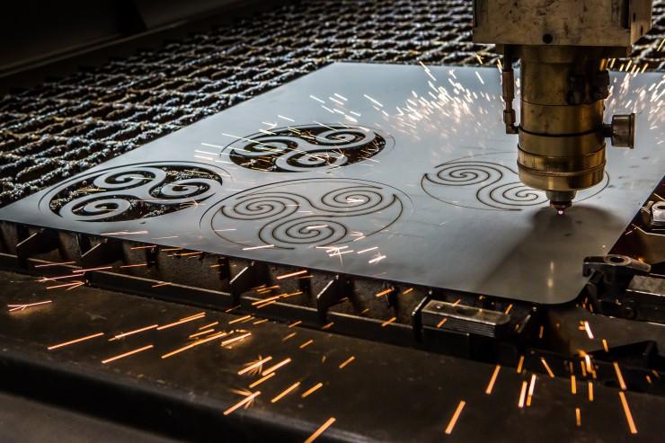 decoupe laser motif design