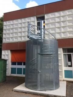 Escalier métallique extérieur - OmniMetal