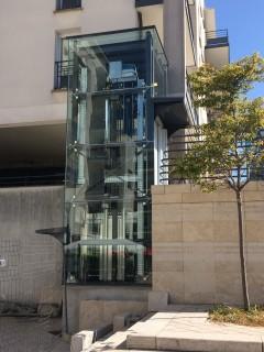 pylône ascenseur Orléans OmniMetal