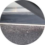 bavette pour fenêtre-acier laqué