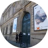 cadre acier musée des beaux arts Rennes