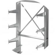 Cantilever stockage de charges lourdes