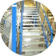 escalier-plate-forme-industriel