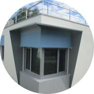 Garde corps acier toiture prévention chutes
