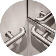 main courante acier ascenseur