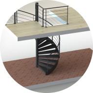 escalier-metal-colimacon