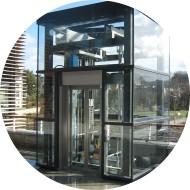 Edicule - Pylône d'ascenseur