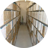 Rayonnage archives acier