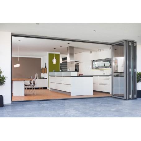 cloison accordon vitre solarlux alu double vitrage sl with. Black Bedroom Furniture Sets. Home Design Ideas