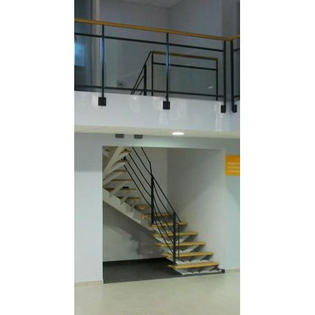 escalier simple limon. Black Bedroom Furniture Sets. Home Design Ideas