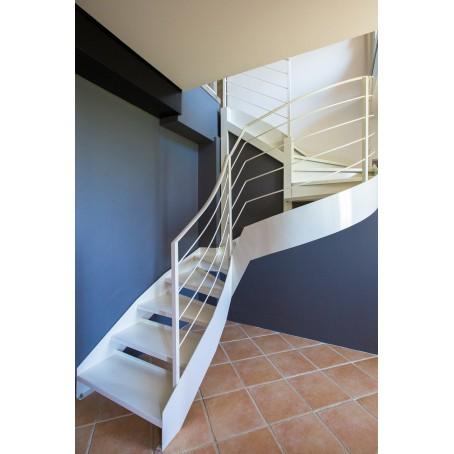 Escalier double limon - Escalier debillarde ...