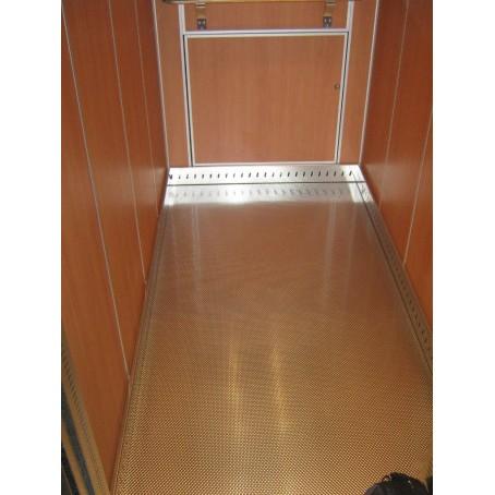 habillage cabine ascenseur sol
