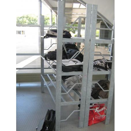racks à cartables - lycée - école