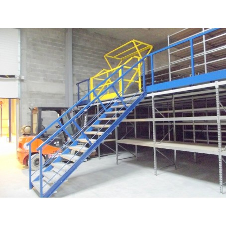 plancher rayonnage stockage