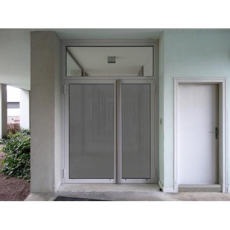 Porte Dentrée - Porte vitrée sur pivot