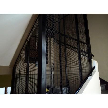 securisation ascenseur grille