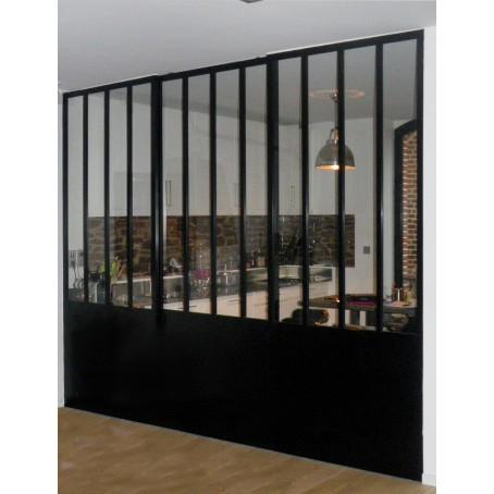Verri re atelier for Cloison separation cuisine sejour