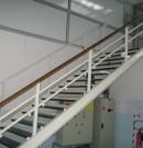 escalier industriel acier acces
