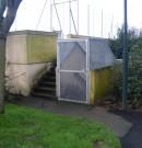 rideaux métallique en acier-accès au parking en sous-sol sécurisé