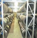 Stockage pneus - garage