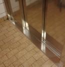 seuil finition ascenseur