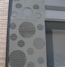 Volet coulissant-fermeture et sécurisation balcon et cellier-tôle perfo